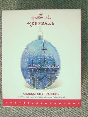 "Mint 2015 Hallmark ""A Kansas City Tradition"" Ornament"