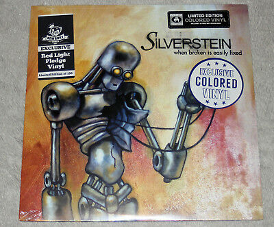 Silverstein Broken Easily Red Vinyl Discovering The Waterfront Blue/Gold Newbury