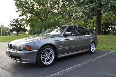2002 BMW 5-Series  2002 BMW 540I 38K MI! SPORT PACKAGE, NEW CONDITION, 1 OWNER COLLECTABLE CAR!