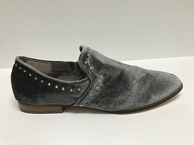 3a872c7e2ba Steven By Steve Madden Archie Grey Slip On Loafer Studded Shoes Us 9M  129