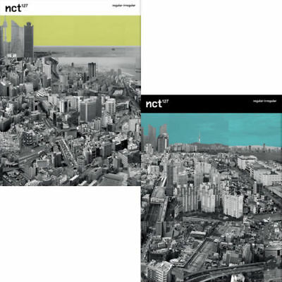 NCT 127 [REGULAR-IRREGULAR] 1st Album 2Ver SET 2CD+2POSTER+2Book+2Card+2PreOrder