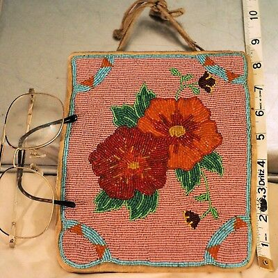 Native American Beadwork bag ( not sure of the year = old)