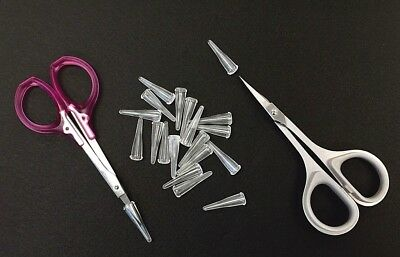 Scissors Protector Rubber Tips  20X    RT-1   Clear Colour