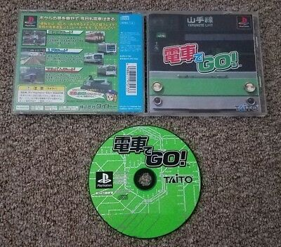 Import Playstation - Densha de Go! - Japan Japanese PSX PS1