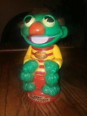 Vintage ARNY MONEY GOBBLER Coin Bank 1977 - Muppets - Animals plus inc.