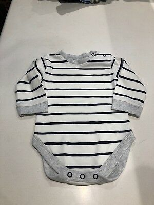 Baby Boys Next Long Sleeved Vest 3-6 Months