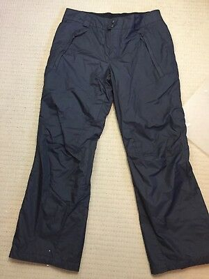 Columbia - Waterproof Pants - Size Medium - Black - Snow - Hiking - VGC -