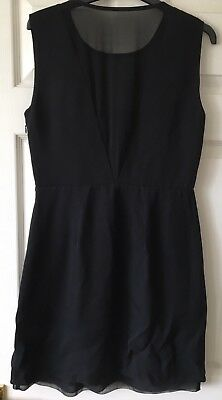LBD Reiss Black Mini Dress, Uk Size 10, Good condition, Party/Night, semi fitted