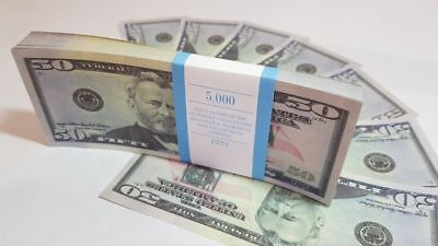 $50 DOLLARS SOUVENIR BILLS 1 pack for Prank, Games, Movies & Videos and Gift