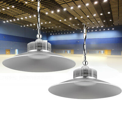 2x 150W LED High Bay Light Warehouse Workshop Industrial Commercial Lamp Low Bay