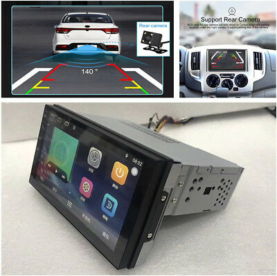 1 Din Android7.1 GPS Navigation Radio Stereo Audiospieler RDS /SWC/BT/Wifi/3G/4G
