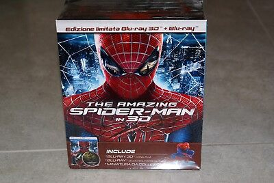 The Amazing Spiderman Limited Edition With Statue Bluray