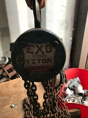 Block And Tackle - 20 Plus - Bundle - Used And Working