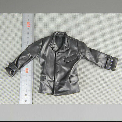 """1/6 Scale Leather Jacket Model for 12"""" Action Figure Accessories"""