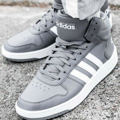 info for 29347 b8be2 ADIDAS HOOPS 2.0 MID chaussures hommes montantes sport loisir sneaker B44661