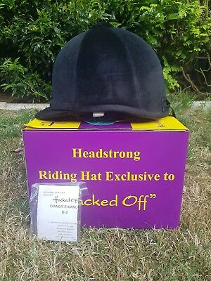 Hacked off Horse Riding Hat