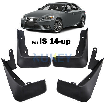 Mud Flaps For Lexus IS250 IS350 IS300h 14-18 15 16 17 Splash Guard Mudguards