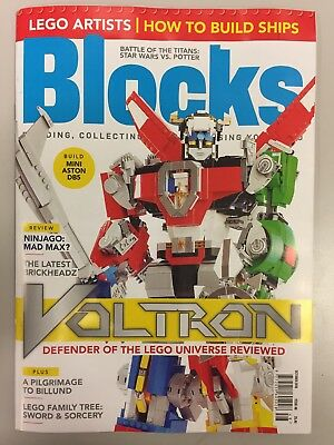 Lego blocks Magazine Issue 48 October 2018