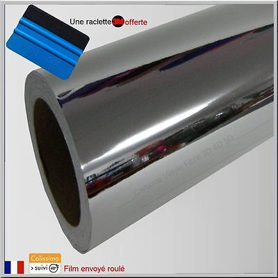 film vinyle chrome thermoformable sticker adhésif covering 152cm x 30cm