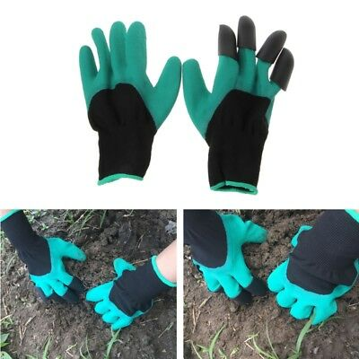 2PCS Breathable Garden Gloves with Four Claws For Women Men Plant Dig Fix Tool