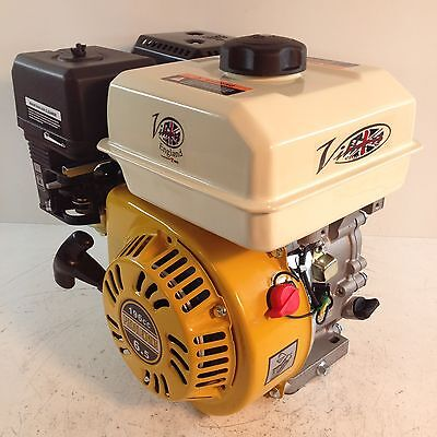 Villiers 6.5hp petrol engine 4 stroke, general purpose replacement for GX200