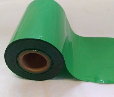 Green Hot Foil Printing Roll 80mm - For Stamping/Gold Blocking Machine