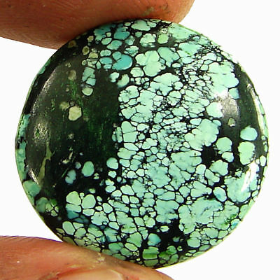 17.45 Ct Natural Tibet Turquoise Loose Gemstone Cabochon Stone - 20109
