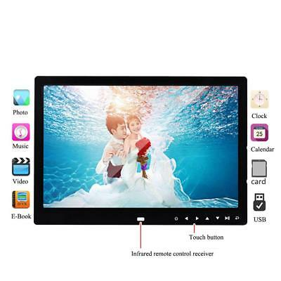 """10"""" Digital Photo Frame Electronic Remote Control Picture Video Player Album"""