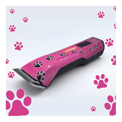 HEINIGER SAPHIR STYLE PINK CLIPPER CORDLESS Limited Edition Paws