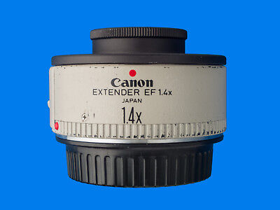 Canon Extender (Teleconverter) EF 1.4x Complete with Both Caps