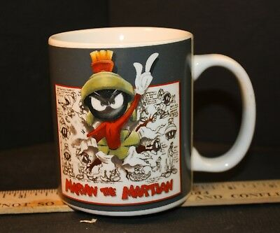 MARVIN the MARTIAN Warner Brothers Store COFFEE CUP/MUG 1995 USED