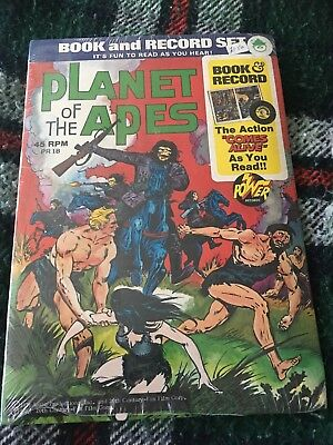 Planet Of Apes  Book And Record
