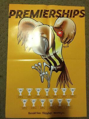 2018 Hawthorn A2 AFL Premierships Glossy Poster (Herald Sun)
