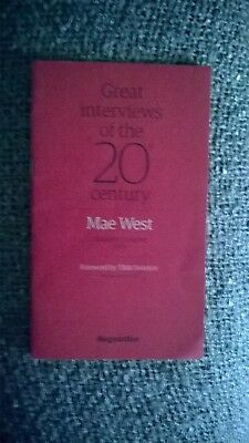 the guardian great interviews of the 20th century Mae West