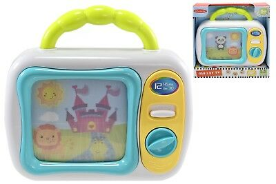 My 1st TV Baby Toddler Wind Up Musical TV Activity Toy 6 Months + Brand New