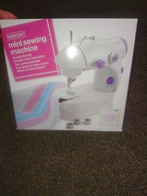 Mini Sewing Machine by Hobbycraft Perfect for Small Projects Childrens Crafts