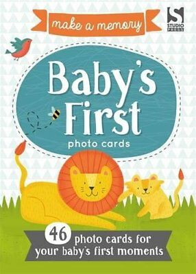Make a Memory Babys First Photo Cards Make a moment into a memory to keep fore