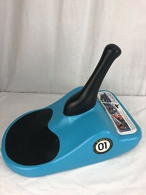 USA Made Zipfy blue #01 plastic freestyle personal luge snow sled