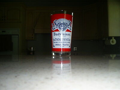 Budweiser King Of Beers Collectible Glass