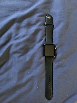 Apple Watch Sport 1st Generation 42mm Space Gray