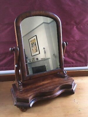 Antique Victorian Mahogany Dressing Table Mirror - possible up-cycling project