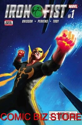 Iron Fist #1 (2017) 1St Printing Bagged & Boarded Marvel Comics