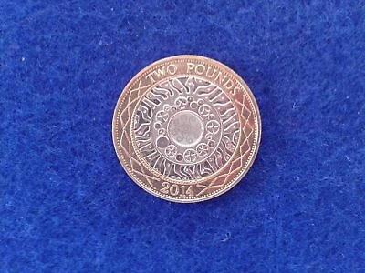 £2 pound COIN STANDING ON THE SHOULDER OF GIANTS 2014