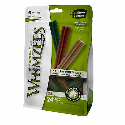 Whimzees Small Stix Dog Treats, 28 Pieces