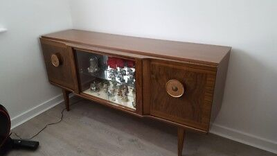 70's Beautility sideboard with revolving cocktail cabinet