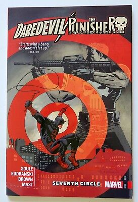 Daredevil / Punisher Seventh Circle Marvel Graphic Novel Comic Book