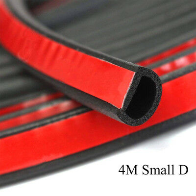 Weatherstrip Small D-shape Car Door window Rubber Weather Seal Strip Dust-proof