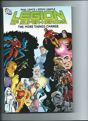 Legion Of Super-Heroes: The More Things Change - Dc Tpb !!!