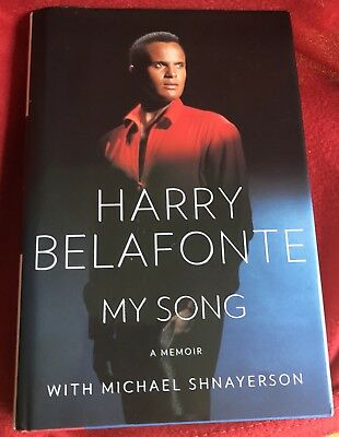 "Harry Belafonte Autograph Book ""My Song, My Memoir"" to Jackie Collins"