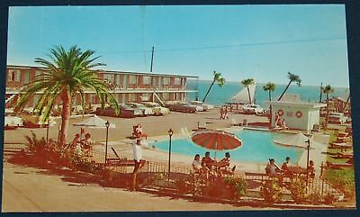 Bungalow Motel & Restaurant, Biloxi, MS Postcard